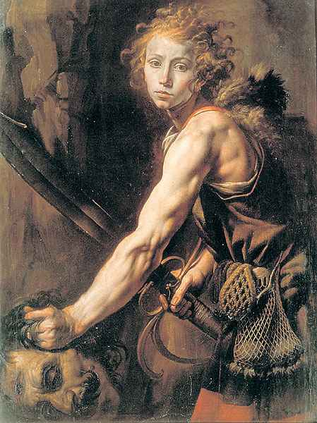 David And Goliath Famous Painting