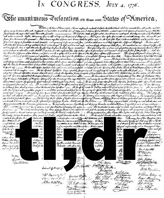 The Last Word On Nothing | tl;dr \u2014 a manifesto