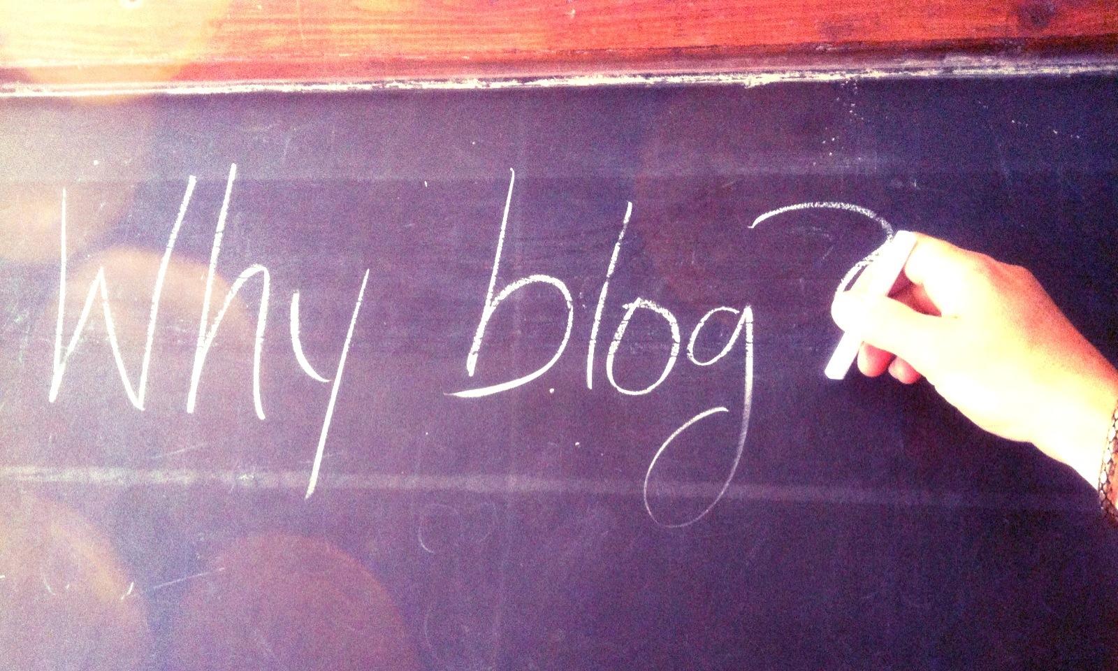Neden Blog Yazıyoruz