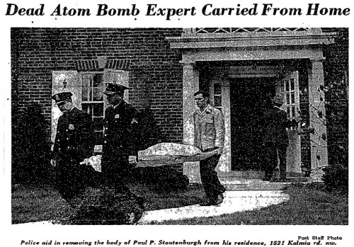 1946-Dead-Atom-Bomb-Expert-Carried-From-Home-500x349