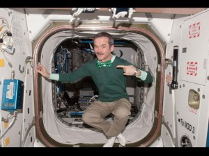 St. Patrick's Day on the ISS