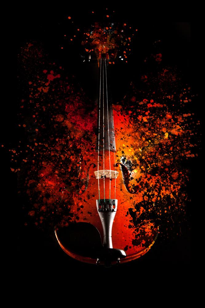 exploding violin