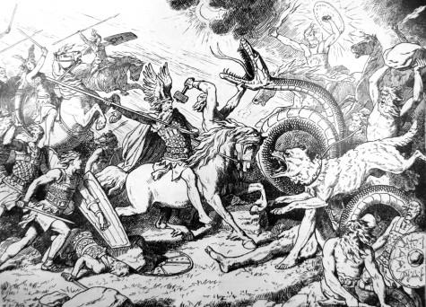 Ragnarök, by Johannes Gehrts.