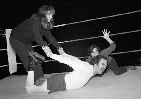 Kaufman wrestling