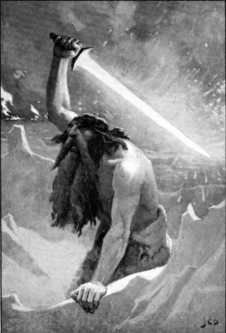 Surtur by John Charles Dollman. Credit Wikimedia Commons.