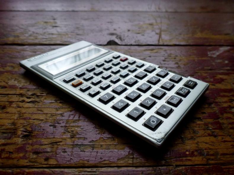 Anne Sasso's calculator