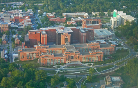 The National Institutes of Health Clinical Center, Bethesda, Md. So much money in this photo; any for M.E.?
