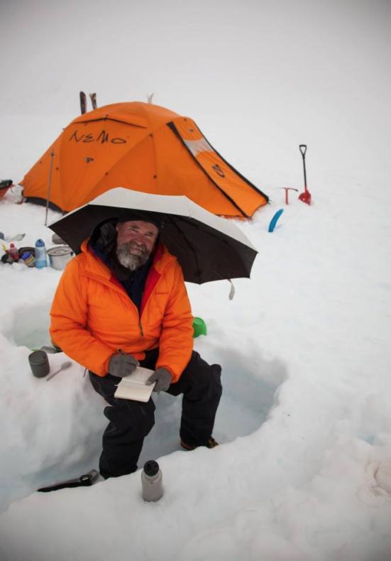 Author photo on Ice