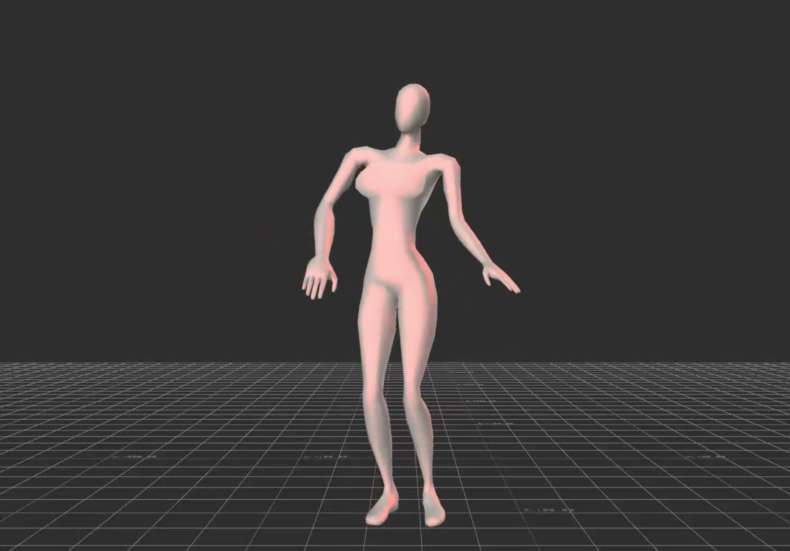 computerized figure dancing