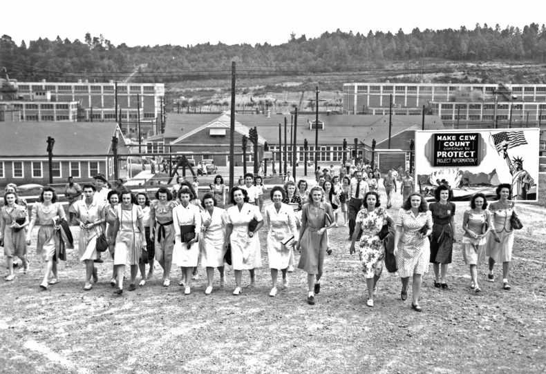 women-workers-walking